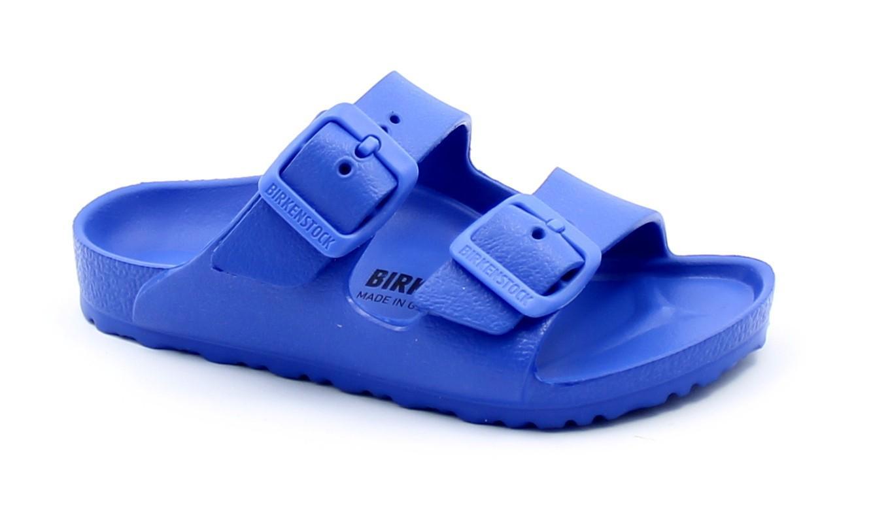 BIRKENSTOCK ARIZONA EVA 1018925 ultra blue ciabatte bambino fibbie gomma
