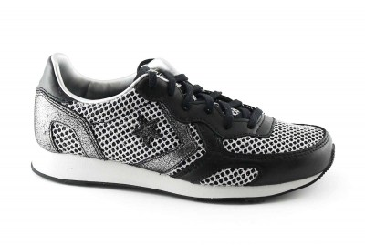 CONVERSE 552684C black/silver scarpe donna auckland racer running