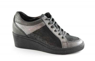 Grunland HOAN SC4567 Bianco Argento Scarpe Sneaker Donna