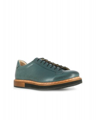Neosens S064 RESTORED SKIN BOTTLE / PICUDO Shoes Man Green Laces