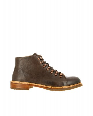 Neosens S597 MONTONE BROWN / KERNER Ankle Boots Man Brown Laces