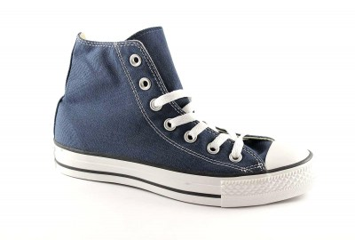 CONVERSE M9622C navy blu scarpe snakers all star mid lacci