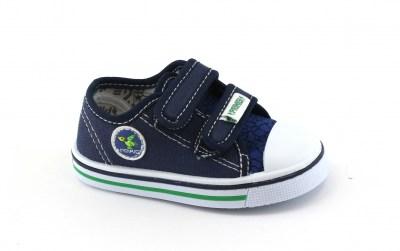 065a2434605fe3 PRIMIGI 1445700 blu scarpe bambino strappi tessuto