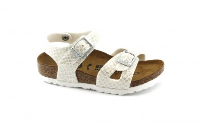 BIRKENSTOCK RIO KIDS1008286 24/33 bianco sandali bambina Magic Snake White