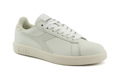 DIADORA C7901 GAME WIDE white optical bianco scarpe donna sneakers pelle