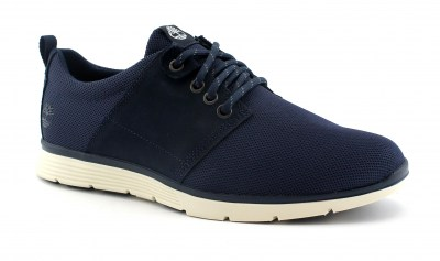 TIMBERLAND A1Y1J navy mesh blu scarpe sneakers uomo light lacci
