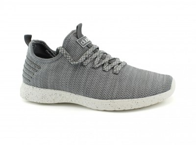 HEY DUDE LEVANTE knit steel scarpe uomo sneakers riciclate slip on lacci