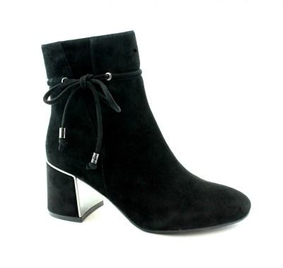 PREGUNTA 5800S camel donna scarpe tronchetto stivaletto texano tacco zip camoscio