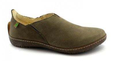 EL NATURALISTA ND80 BEE kaki verde oliva donna scarpe slip on