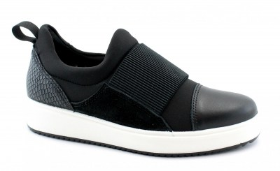 IGI&CO 4151300 nero scarpe donna sneakers slip on elastico