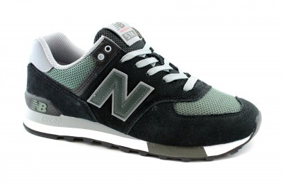 NEW BALANCE ML574  FNA black nero scarpe uomo sneakers lifestyle lacci