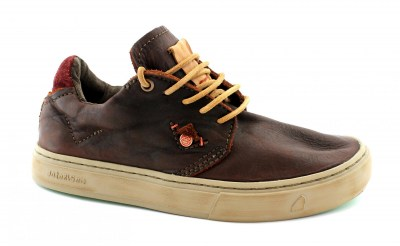 SATORISAN 172013 KAIZEN + Pull Up polo brown marrone scarpe uomo lacci pelle