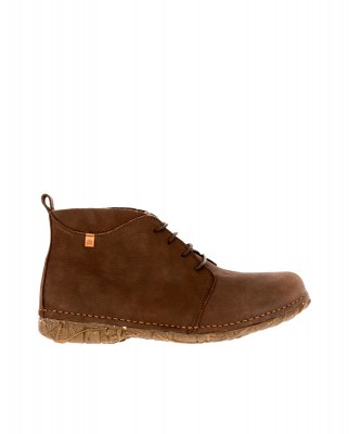 El Naturalista N974 PLEASANT BROWN/ ANGKOR Stivaletto Con Tacco Donna Marrone Pizzi