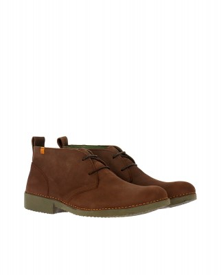 El Naturalista NG21 PLEASANT BROWN / YUGEN Stivaletto Uomo Marrone Pizzi
