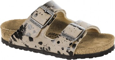 Birkenstock 1008265 Arizona colour sprays beige, Microfibre Beige