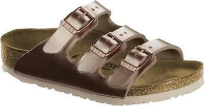Birkenstock 1012514 Florida electric metallic copper, Birko Flor Oro