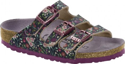 Birkenstock 1014325 Florida meadow flowers blue, Birko Flor Blu