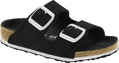 Birkenstock 1014594 Arizona hexagon tech black, Microfibre Nero