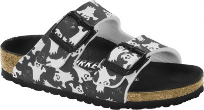 Birkenstock 1014756 Arizona night glow ghost black, Birko Flor Nero