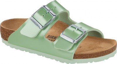 Birkenstock 1015557 Arizona electric metallic mint, Birko Flor Verde
