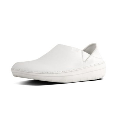 Fitflop SUPERLOAFER TM LEATHER - URBAN WHITE CO