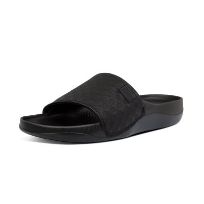 Fitflop BEACH POOL SLIDES - ALL BLACK