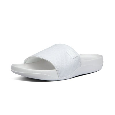 Fitflop BEACH POOL SLIDES - URBAN WHITE