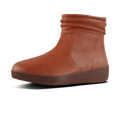 Fitflop SKATEBOOTIE LEATHER - CARAMEL