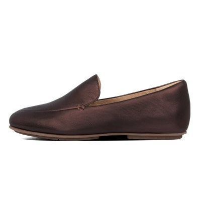 Fitflop LENA LOAFERS - CHOCOLATE BROWN AW01