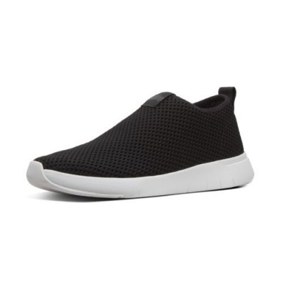 Fitflop AIRMESH - SNEAKERS HIGH TOP - BLACK AW01
