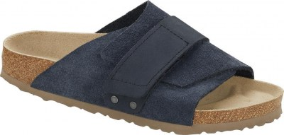 Birkenstock 1017488 Kyoto navy, Suede Leather Blu