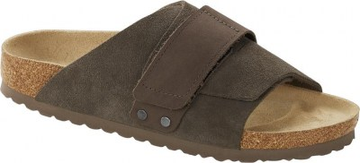 Birkenstock 1017502 Kyoto concrete gray, Suede Leather Grigio
