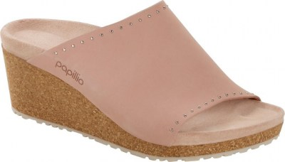 Birkenstock 1017613 Namica crystal rose rivets, Nubuck Leather Rosa