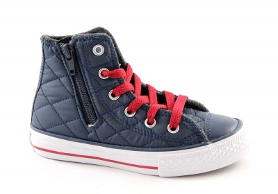 CONVERSE 650681 27/34 nighttime na ct side zip scarpe bambino all star mid