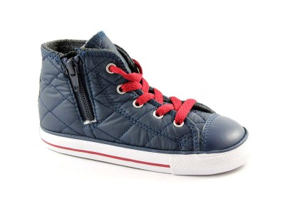 CONVERSE 750681C nighttime na ct side zip scarpe bambino all star mid