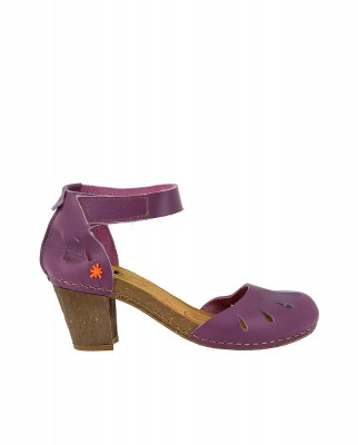 Art Company 0144 BECERRO VIOLET/ I MEET Sandals With Heel Woman Lila Velcro