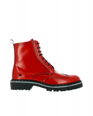 Art Company 1198 CITY BURDEOS/ CAMBRIDGE Ankle Boots Man Red Laces