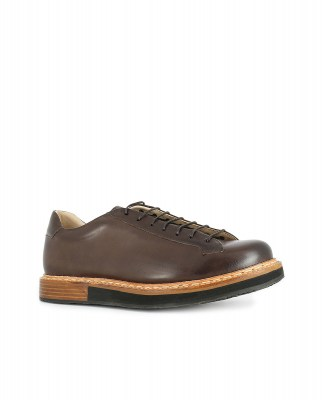 Neosens S064 RESTORED SKIN CHESTNUT / PICUDO Shoes Man Brown Laces