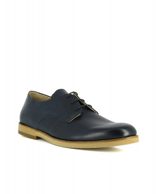 Neosens S082 RESTORED SKIN NEW MIDNIGHT / BRANCELLO Shoes Man Blue Laces