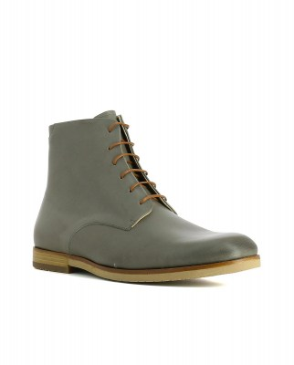 Neosens S086 RESTORED SKIN VETIVER / BRANCELLO Ankle Boots Man Grey Laces