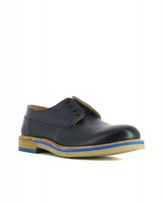Neosens S090 RESTORED SKIN NEW MIDNIGHT / ARIS Shoes Man Blue Laces