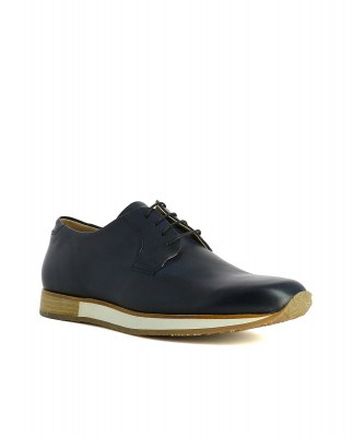 Neosens S592 RESTORED SKIN MIDNIGHT / GRECO Shoes Man Blue Laces