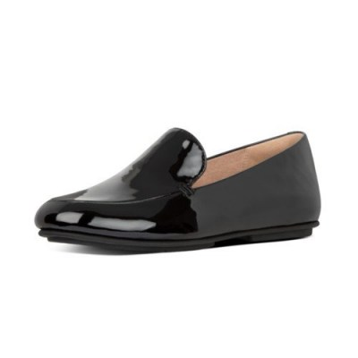 Fitflop LENA PATENT LOAFERS - ALL BLACK CO