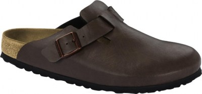 Birkenstock 1016741 Boston saddle espresso, Birko Flor Marrone