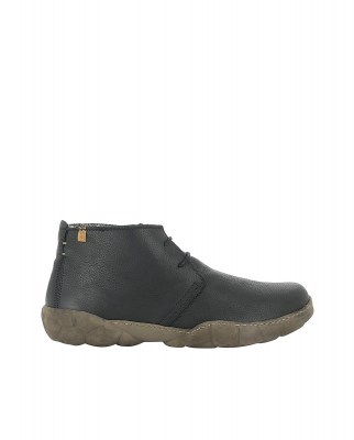 El Naturalista N5086 SOFT GRAIN BLACK / TURTLE Stivaletto Uomo Nero Pizzi