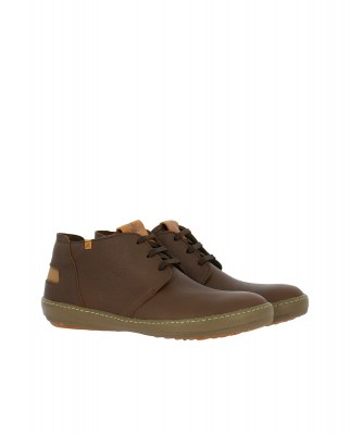El Naturalista NF98 SOFT GRAIN BROWN / METEO Stivaletto Uomo Marrone Pizzi