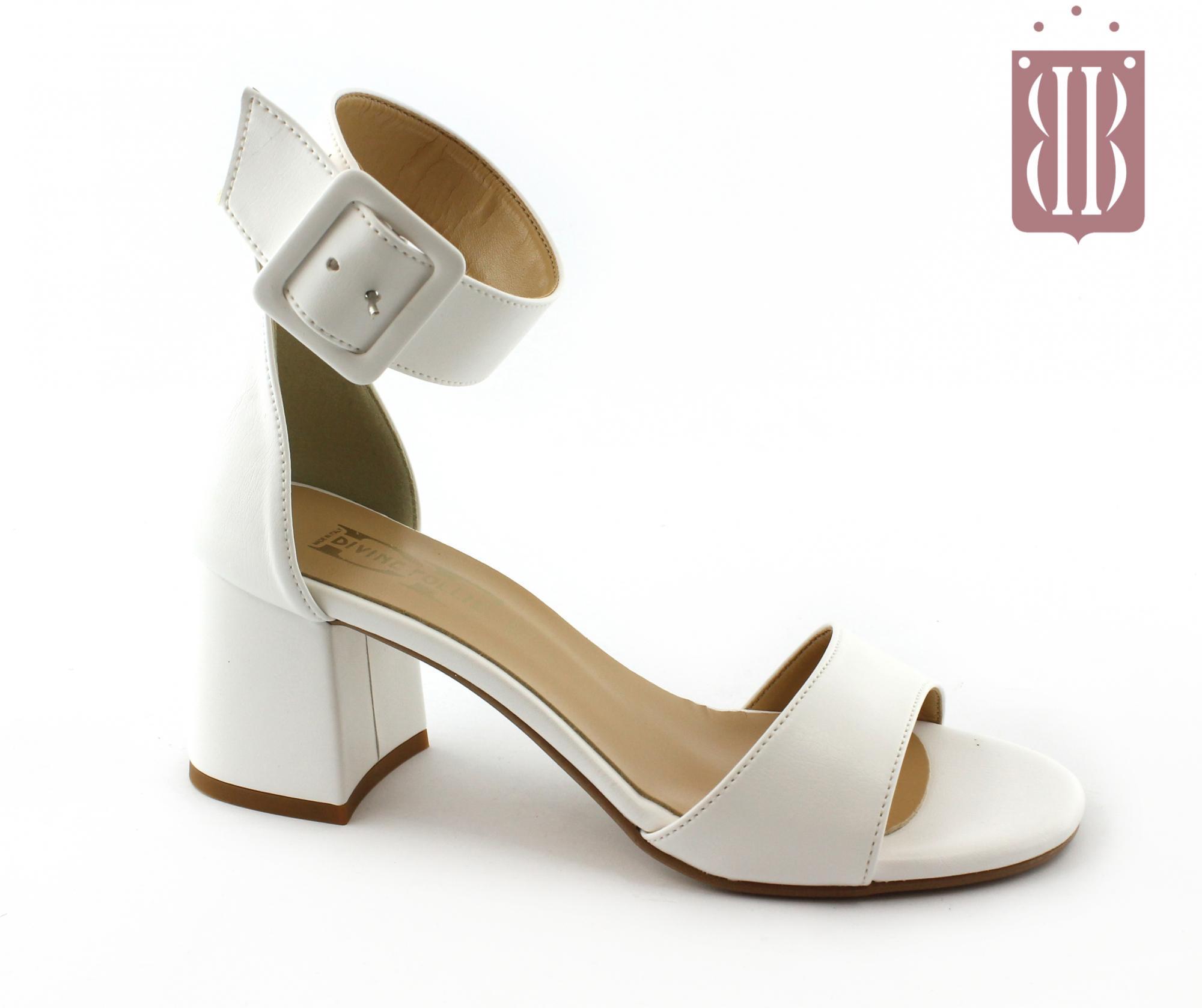 Bianco 42 Nero Sandali Donna N VSpUzM