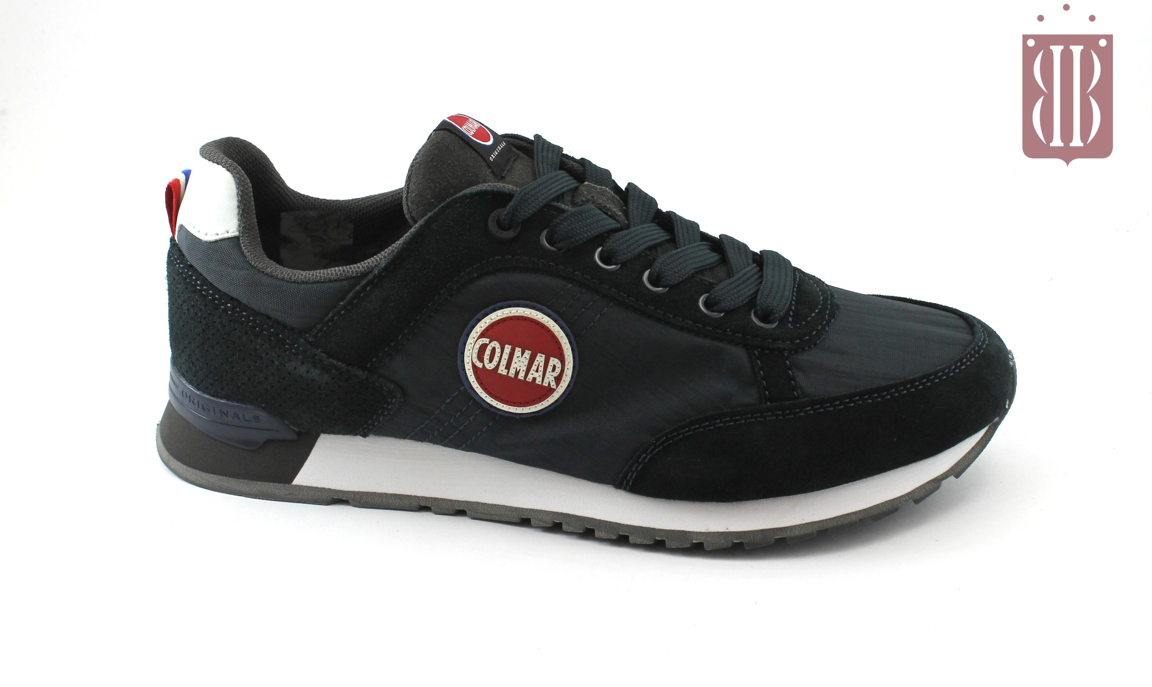 46389cf175 COLMAR TRAVIS COLORS blue/gray scarpe uomo sneakers lacci blu