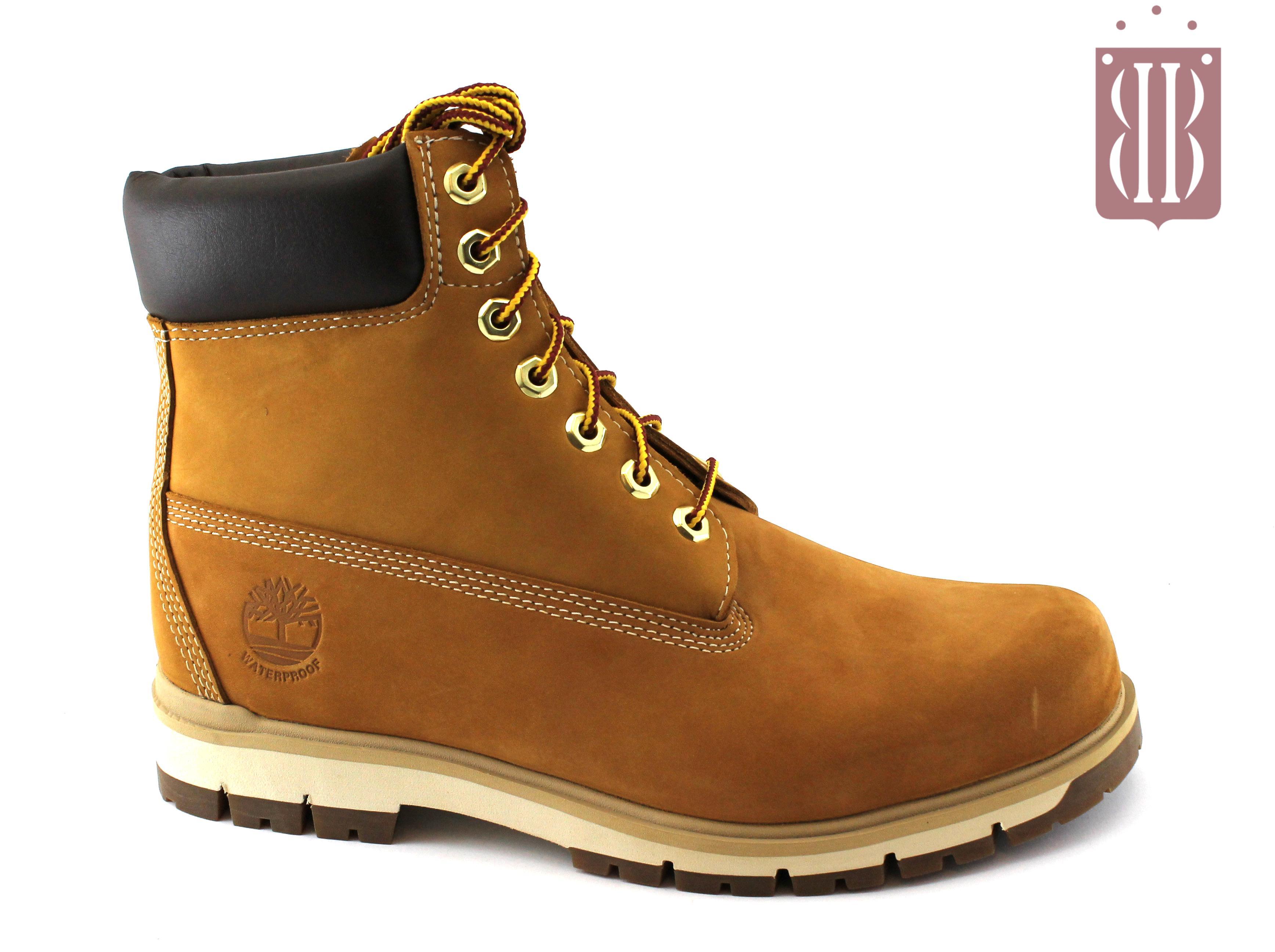 TIMBERLAND A1JHF wheat giallo scarpe uomo scarponcini mid lacci