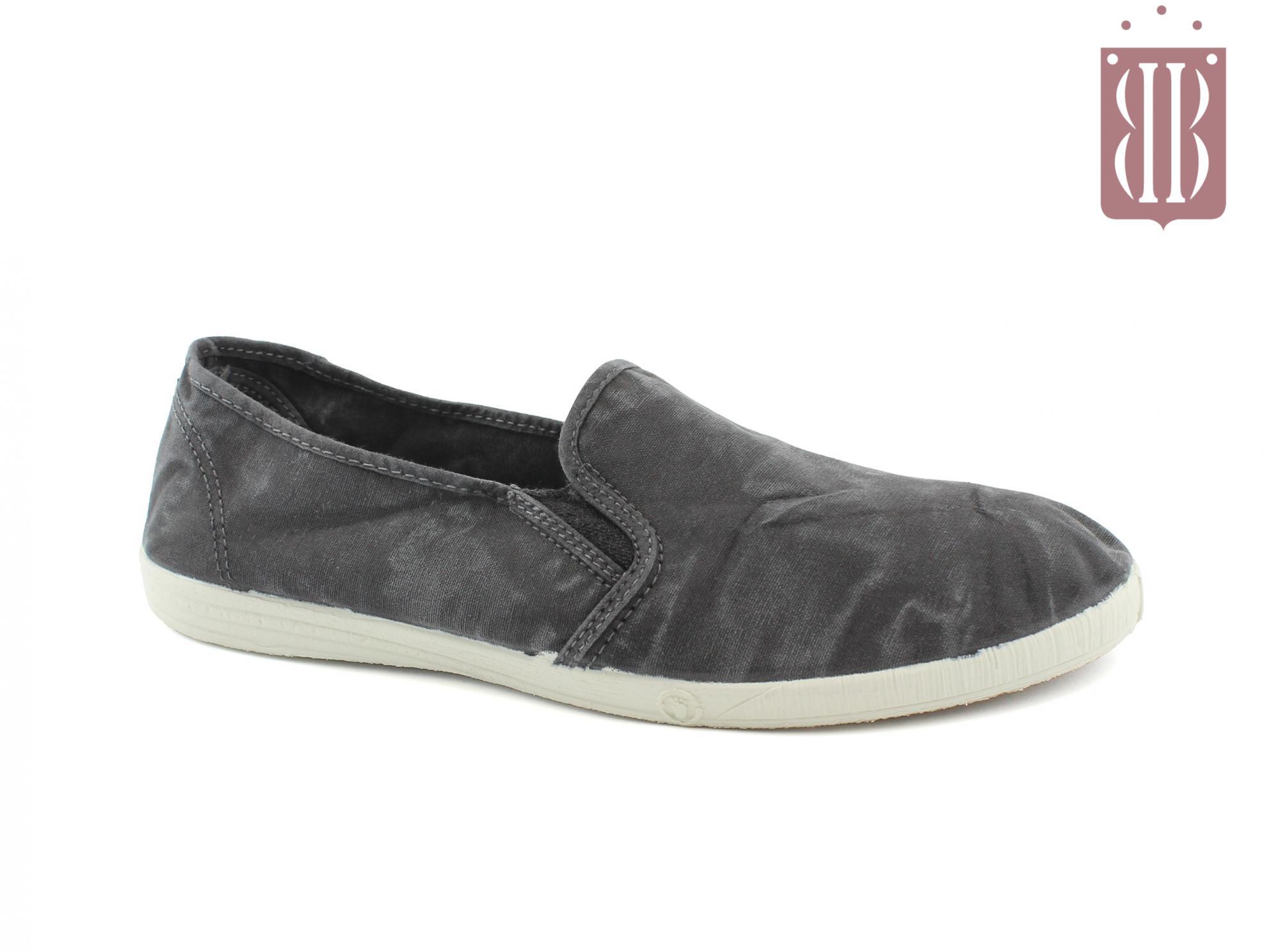 quality design 2d978 d17c2 NATURAL WORLD scarpe Donna Slip on Elastico Cotone Bio plantare estraibile  vegan shoes